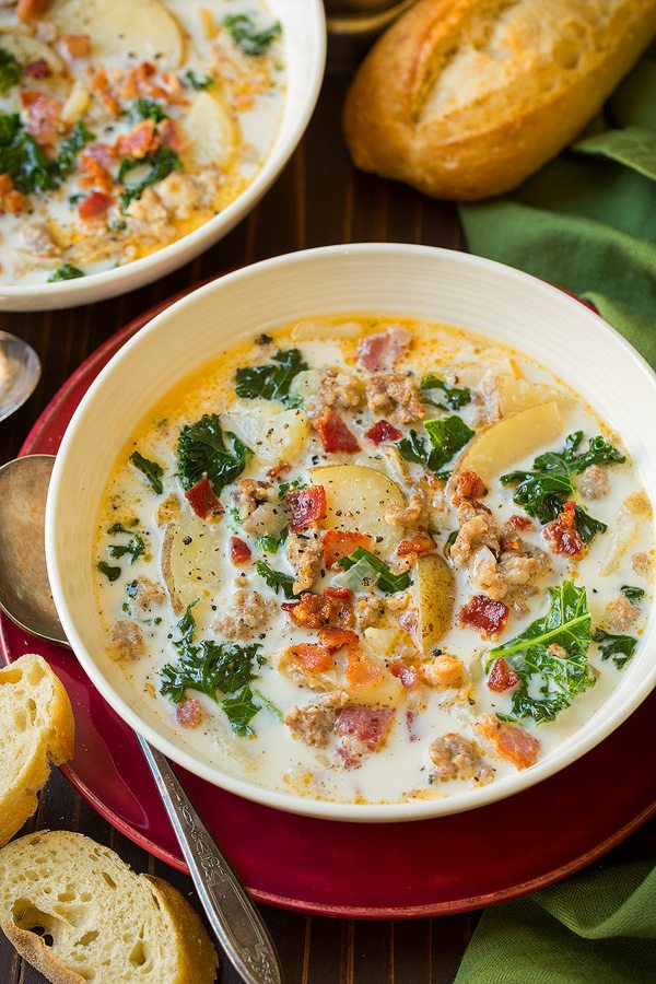 Copycat Olive Garden Zuppa Toscana | Cooking Classy