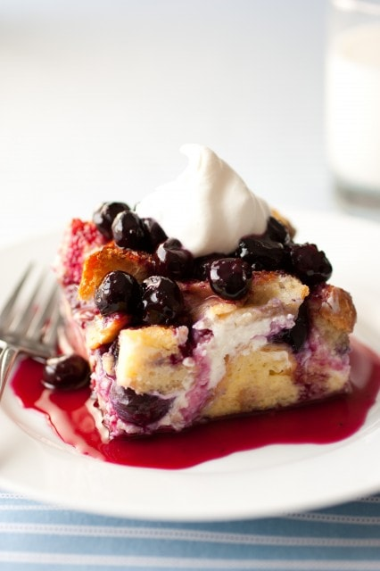 Overnight Blueberry French Toast - Cooking Classy