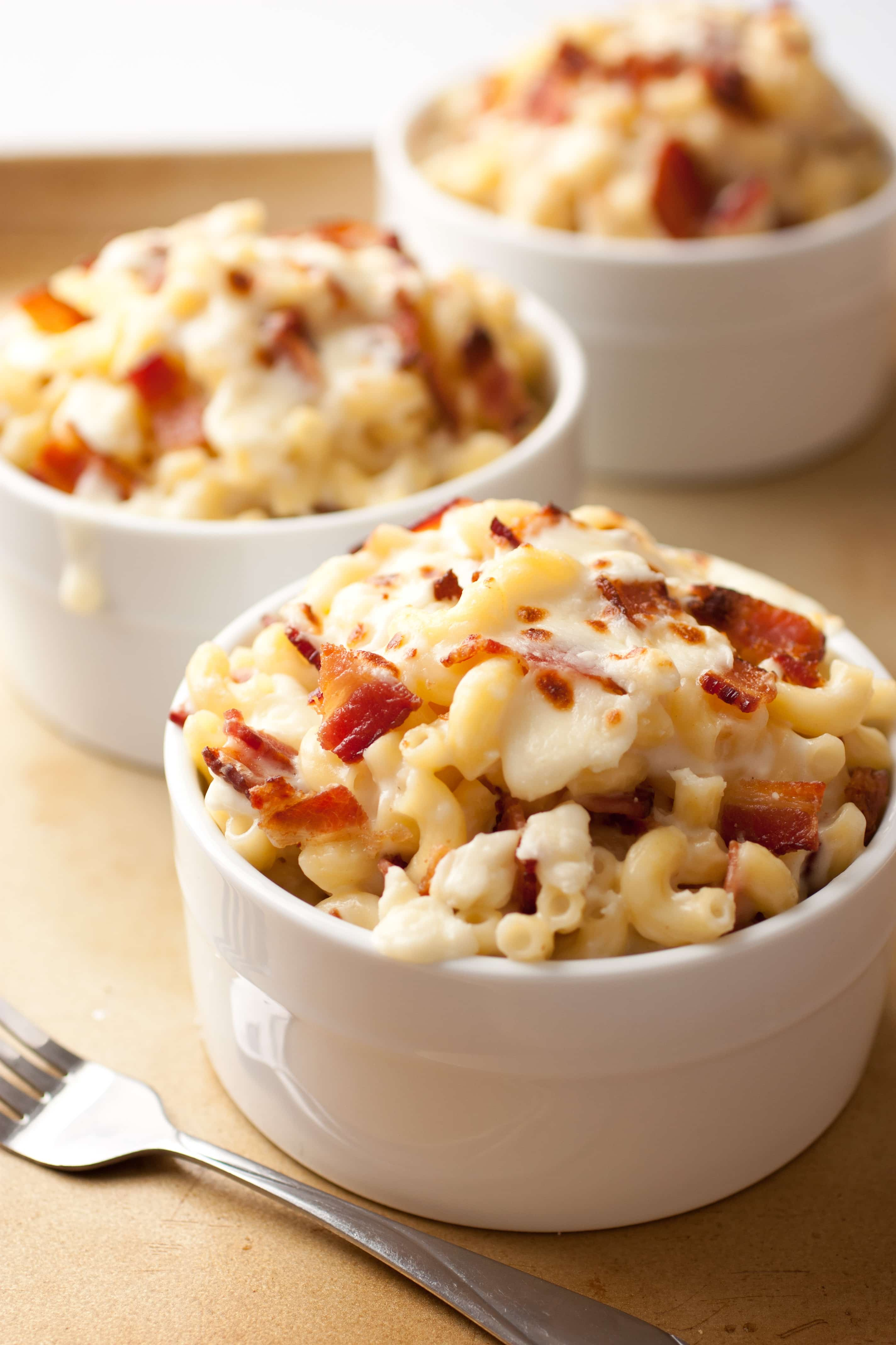 Bacon Feta Macaroni and Cheese - Cooking Classy