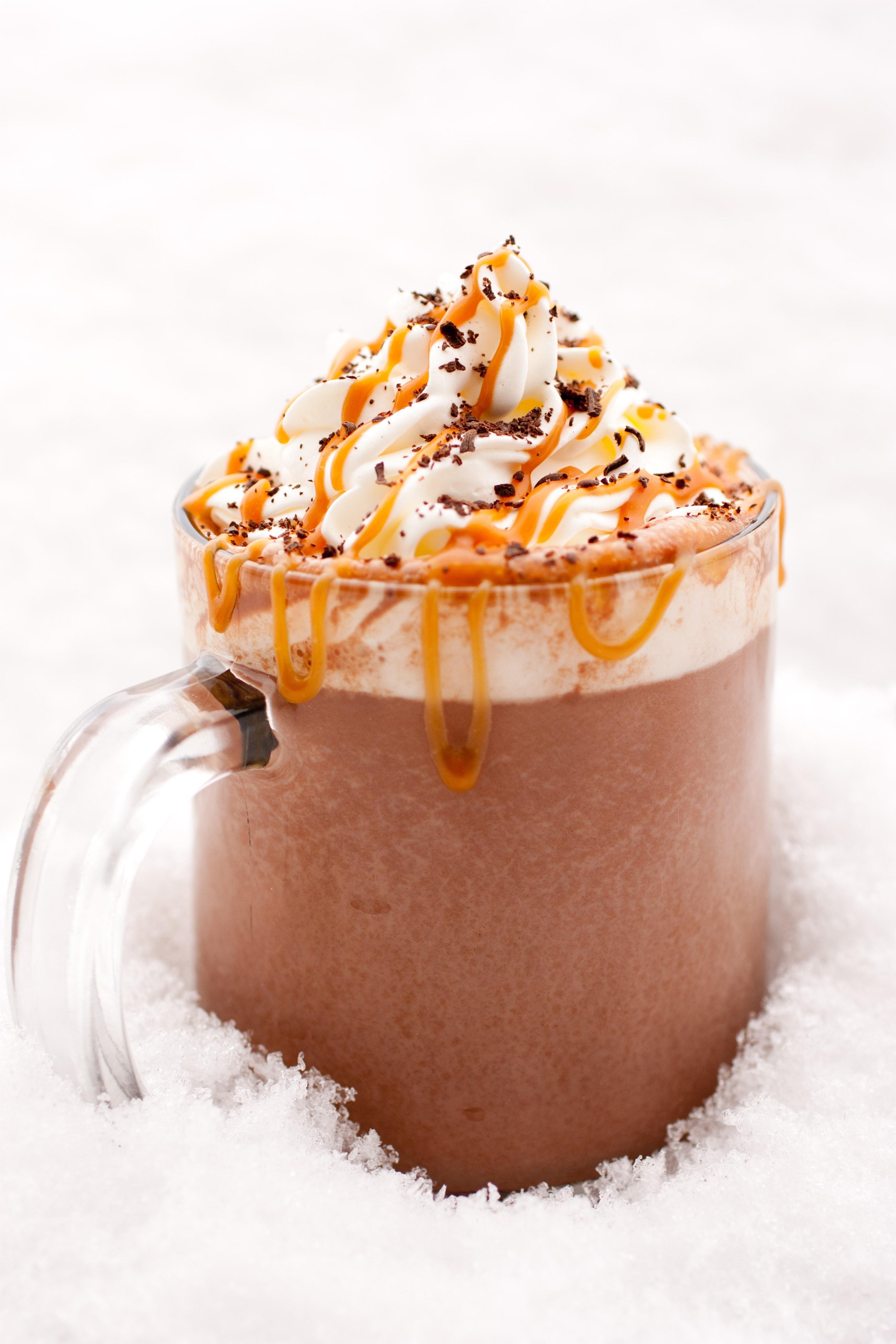 Caramel Hot Chocolate - Cooking Classy