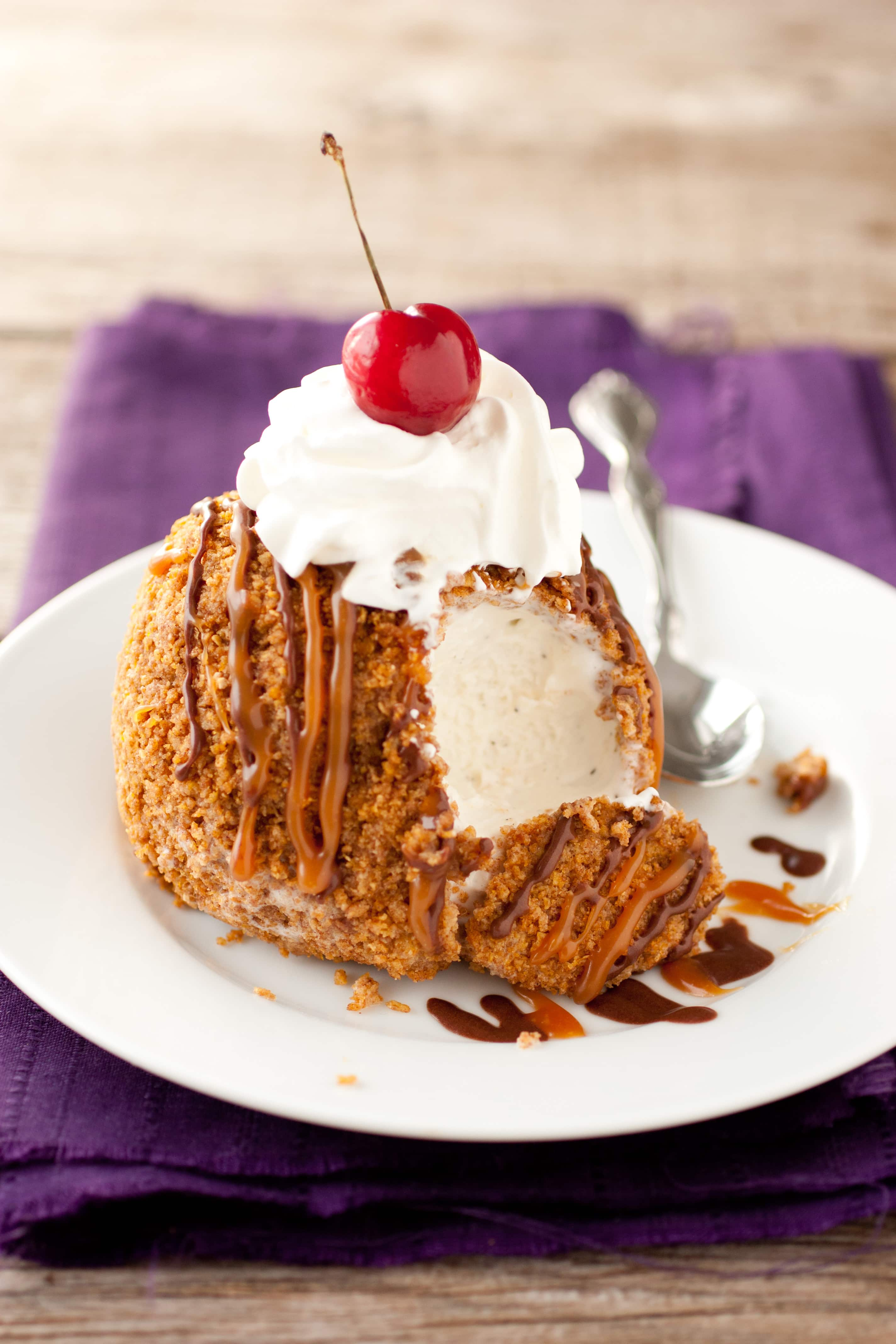 Cheaters fried ice cream cooking classy ccuart Choice Image