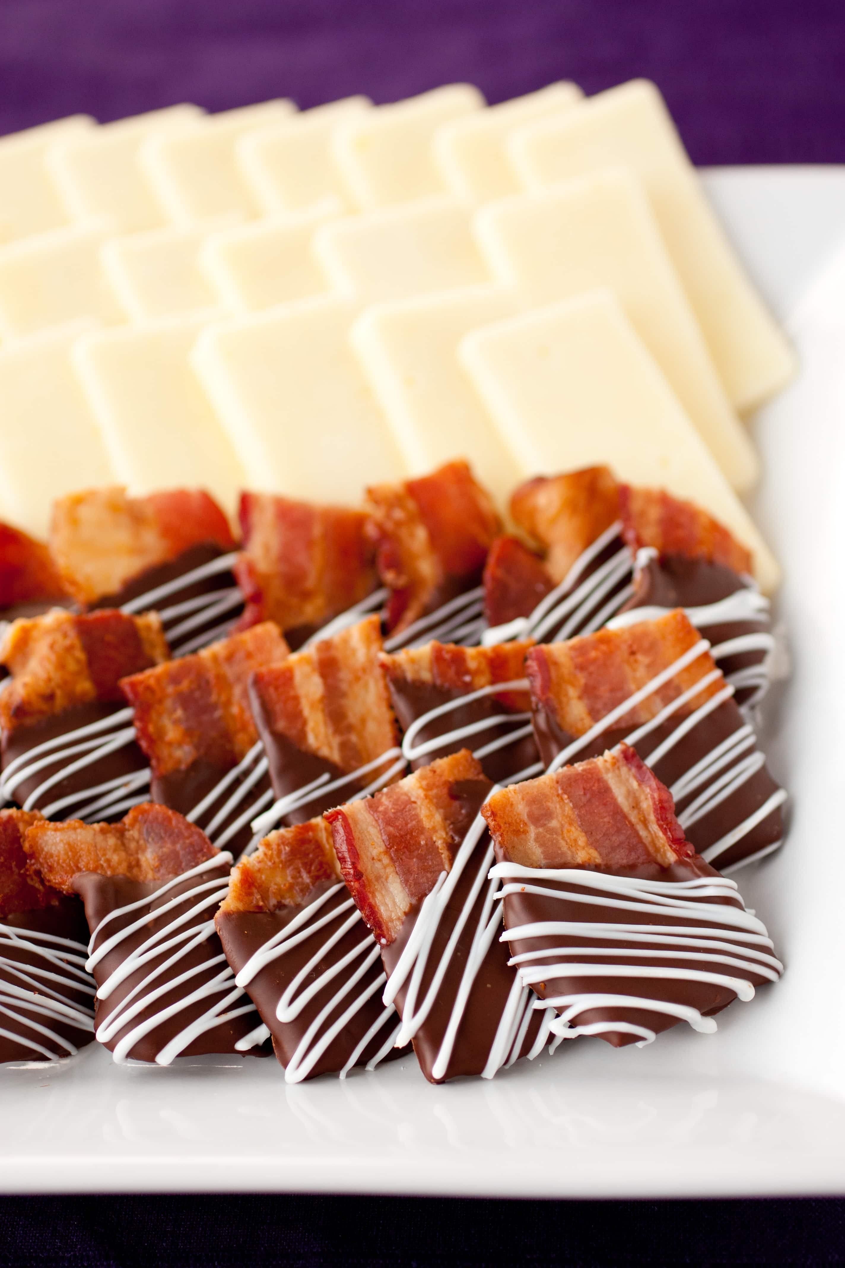 Chocolate Covered Bacon Bites Cooking Classy