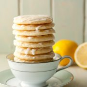glazed lemon cookies yum