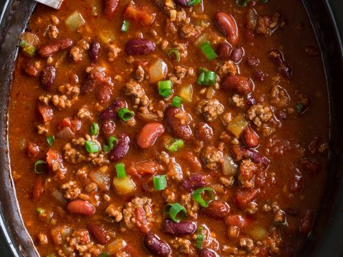 Slow Cooker Chili (BEST Chili Ever!) - Cooking Classy