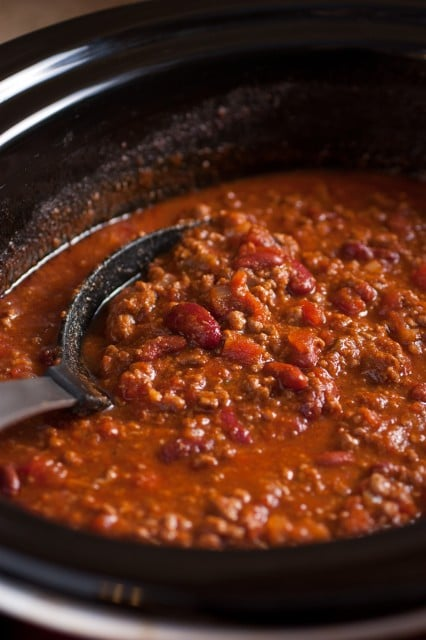 Slow Cooker Chili Recipe — Dishmaps
