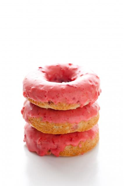 Baked Strawberry Doughnuts Cooking Classy