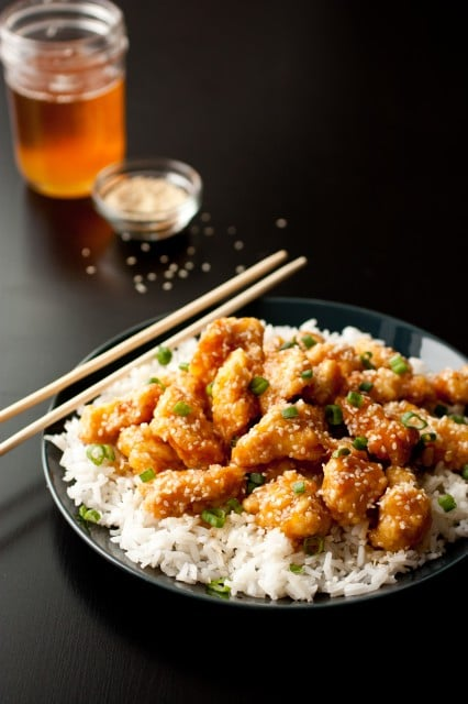honey sesame chicken3