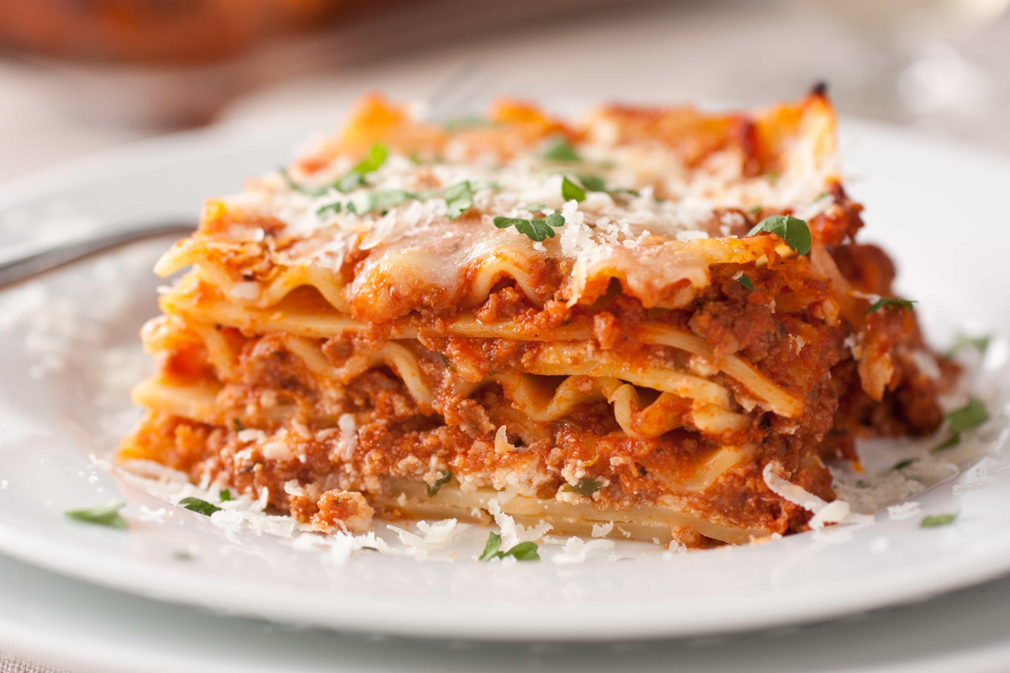 Lasagna - Cooking Classy