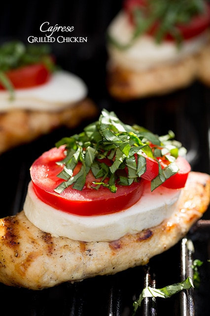 caprese grilled chicken | Cooking Classy