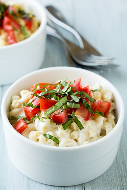 caprese mac and cheese | Cooking Classy