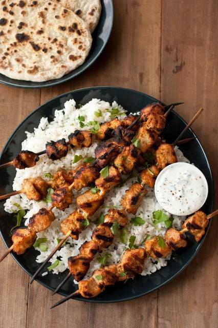 coriander chicken kebabs2