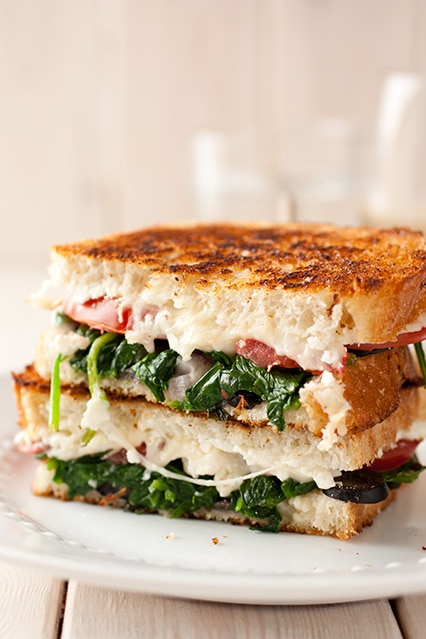 mediterranean grilled cheese sandwich22