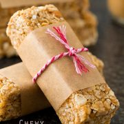 peanut butter granola bars2.