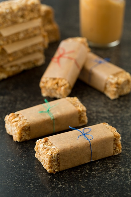 peanut butter granola bars3.
