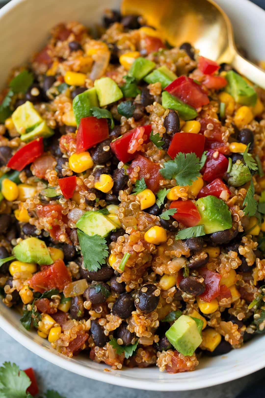 Quinoa Black Bean Tacos