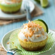 coconut key lime cupcakes | Cooking Classy