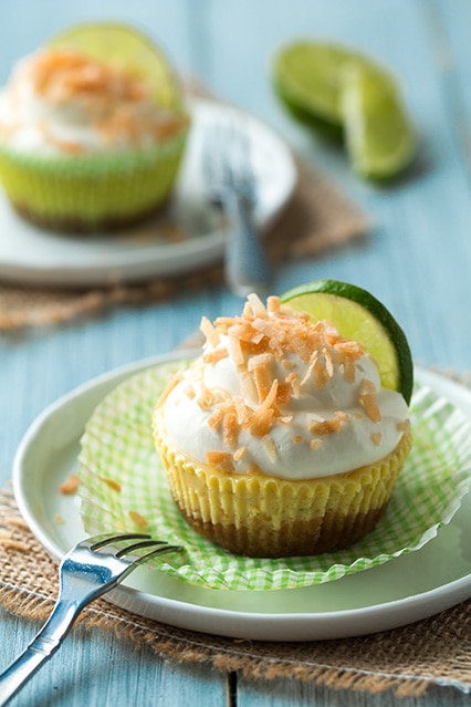 coconut key lime pie cupcakes | Cooking Classy