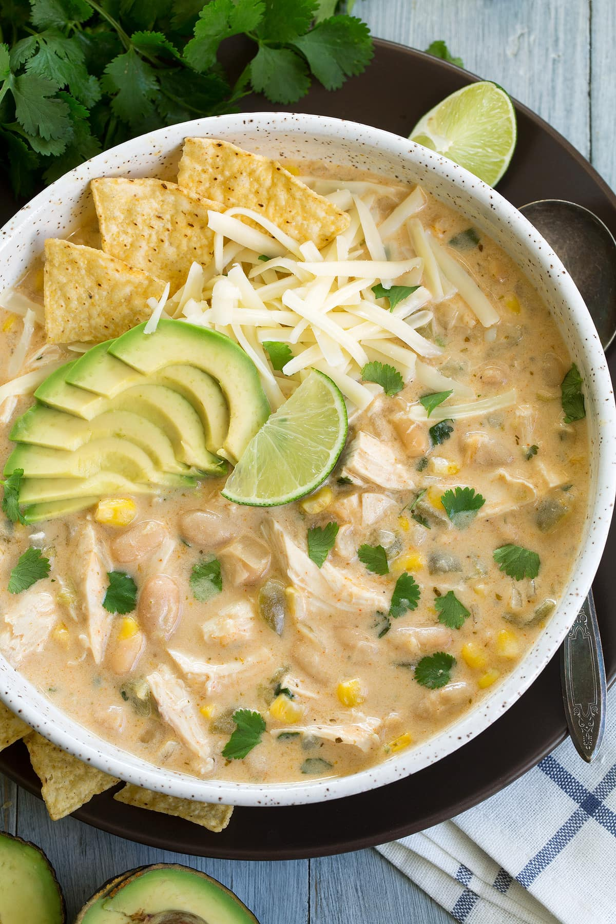 White Chicken Chili Best Ever Cooking Classy
