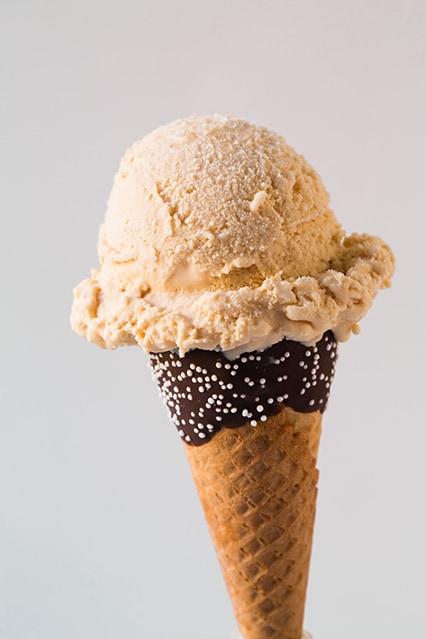 Salted Caramel Ice Cream Recipe — Dishmaps