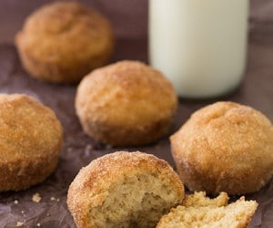 browned butter french breakfast muffins
