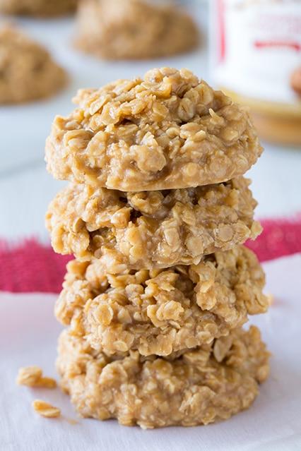 Biscoff No Bake Cookies - Cooking Classy