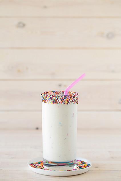 Cake Batter Milkshakes 3 Ingredient Recipe Cooking Classy