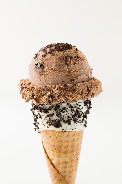 Chocolate Cookies and Cream Ice Cream