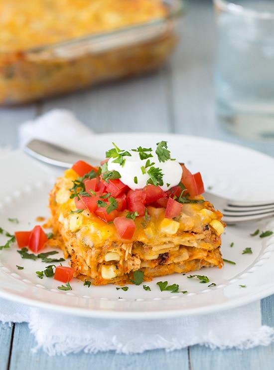 Mexican Lasagna | Cooking Classy
