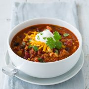 Quinoa Chili {vegetarian and delicious} | Cooking Classy