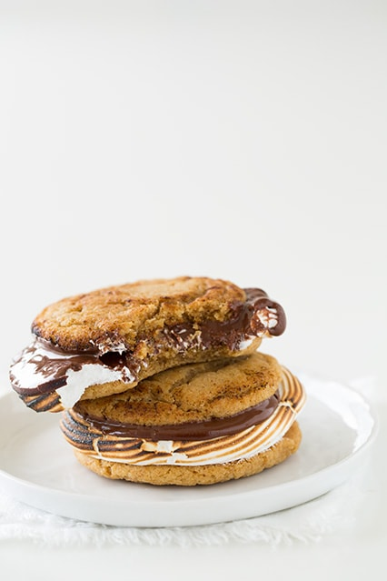 S'mores Cookie Sandwiches | Cooking Classy