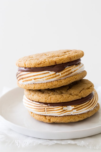 Smores Cookie Sandwiches | Cooking Classy