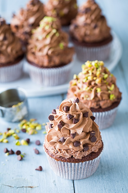 Chocolate Cannoli Cupcakes | Cooking Classy