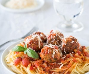 Spaghetti and Meatballs {Authentic Italian Style} | Cooking Classy