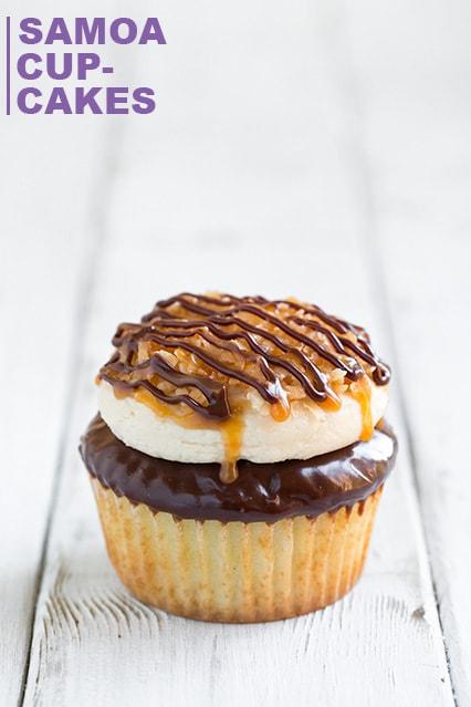 Samoa Cupcakes | Cooking Classy