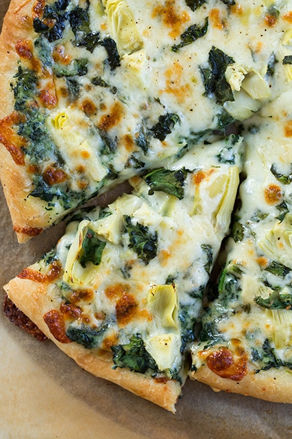 pizza dough ready artichoke spinach pizza with artichoke spinach pizza ...