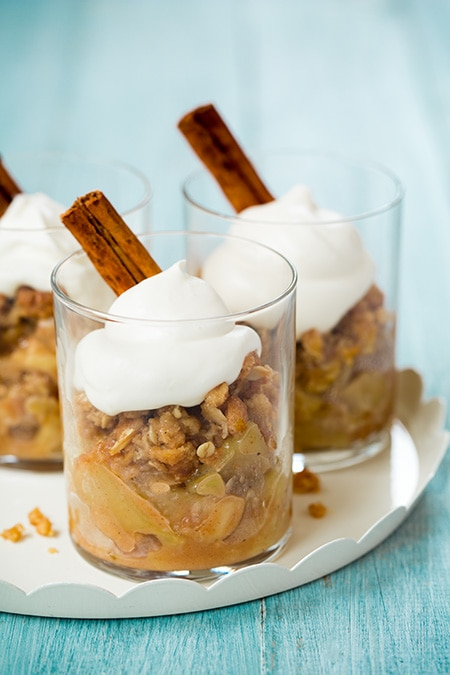 Apple Crisp {served in cups} | Cooking Classy