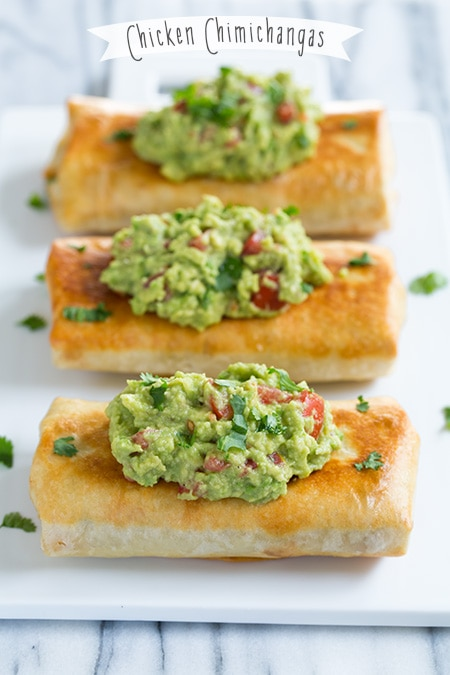 Chicken Chimichangas | Cooking Classy