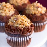 German Chocolate Cupcakes | Cooking Classy