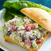 Greek Chicken Salad Sandwiches | Cooking Classy