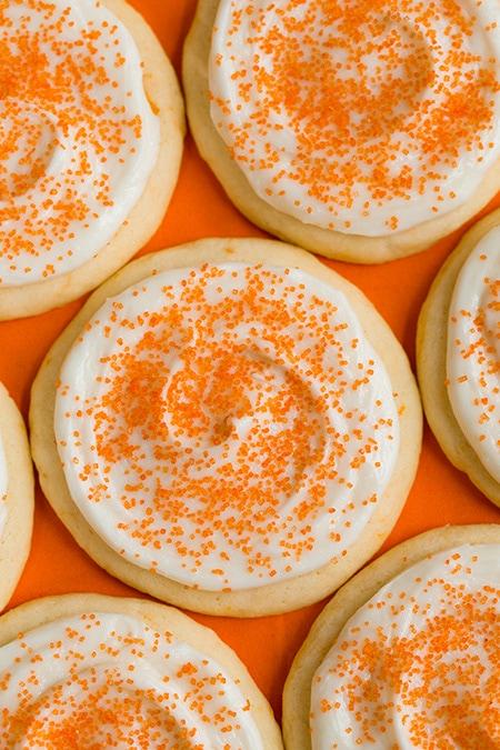 Orange Creamsicle Sugar Cookies   Cooking Classy