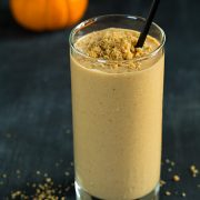 Pumpkin Cheesecake Breakfast Smoothie | Cooking Classy