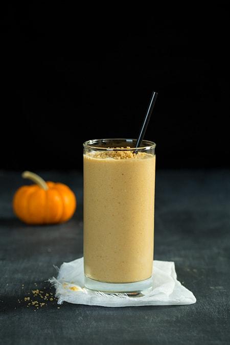 Pumpkin Cheesecake Breakfast Smoothie | Cooking Classy
