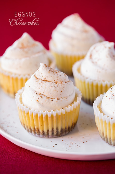 1st Day Of Christmas Egg Nog Cupcakes