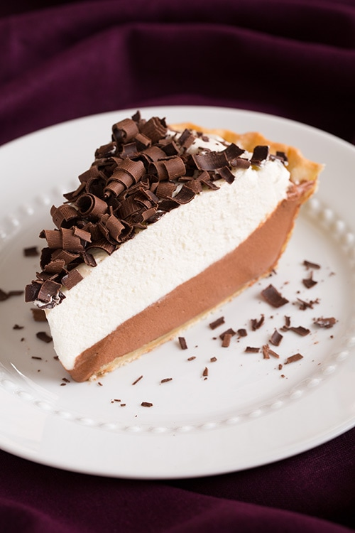 French Silk Pie {AKA Chocolate Lovers Dream Pie} - Cooking Classy