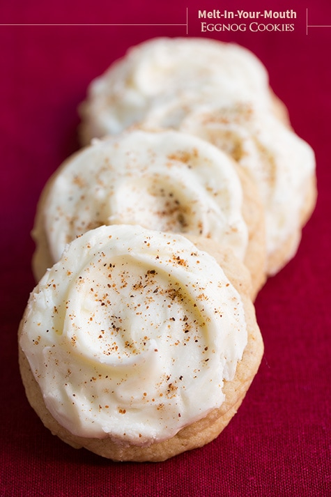 Melt In Your Mouth Eggnog Cookies Cooking Classy