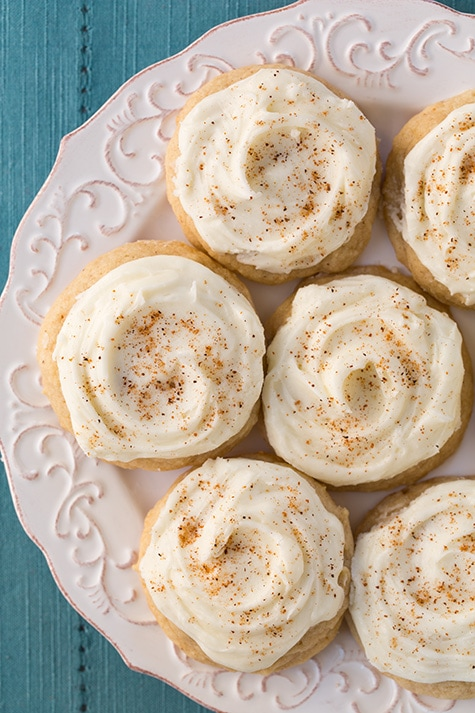 Melt-In-Your-Mouth Eggnog Cookies | Cooking Classy
