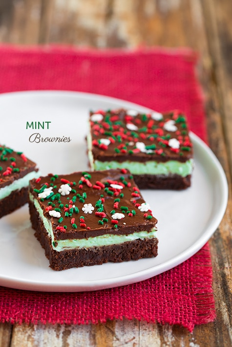 Mint Brownies | Cooking Classy