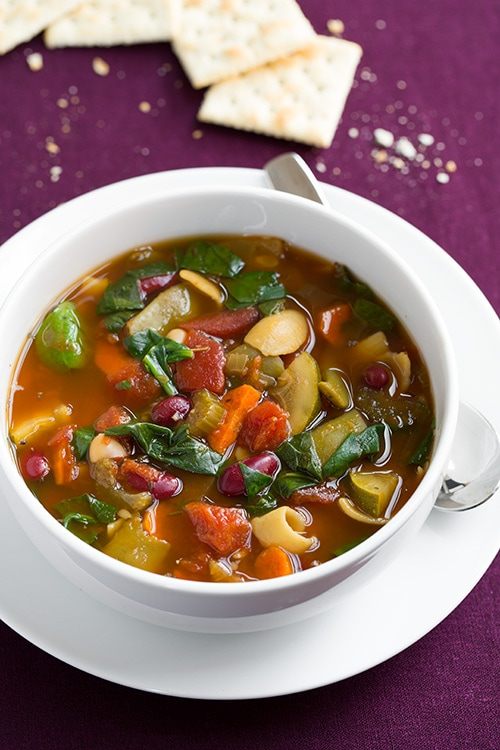 Olive Garden Minestrone Soup Copycat Slow Cooker Cooking Classy