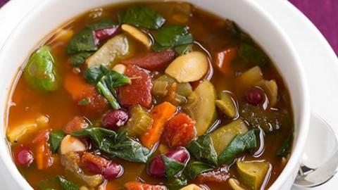 Olive Garden Minestrone Soup Recipe Crock Pot Olive garden minestrone soup copycat slow cooker cooking classy workwithnaturefo