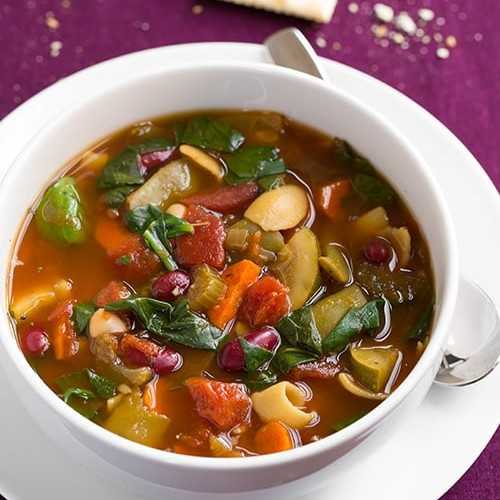 minestrone soup slow cooker or stovetop method cooking classy - Olive Garden Minestrone
